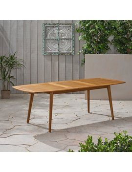 Becker Extendable Wooden Dining Table by George Oliver