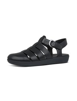Fisherman Leather Back Strap Sandals by Abi