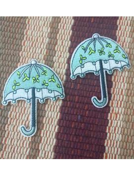 2pcs 5pcs 10pcs Umbrella Embroidered  Iron On Patch  Diy Sewing Bulk Lot Sale    5x6 Cm  2inch by Etsy
