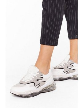 A Little Mix Up Air Bubble Trainers by Nasty Gal