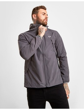 Fred Perry Panelled Zip Through Hooded Jacket by Jd Sports