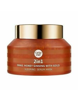 70 G Karmart 2in1 Snail Honey Ginseng With Gold Sleeping Serum Mask Cathy Doll by Cathy Doll