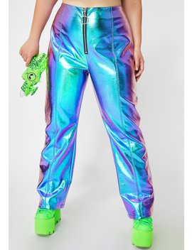Atomic Icy Invaders Metallic Pants by Club Exx