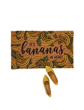Bananas Doormat by Anthropologie