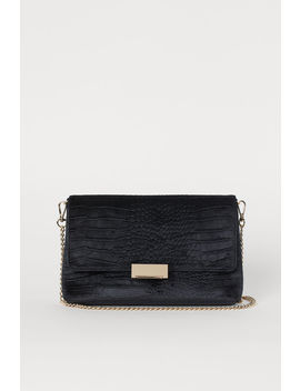 Clutch In Velour by H&M
