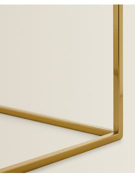 Goudgele Glazen Tafel Meubels   Slaapkamer by Zara Home