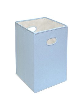 Blue Folding Laundry Hamper by Viv + Rae