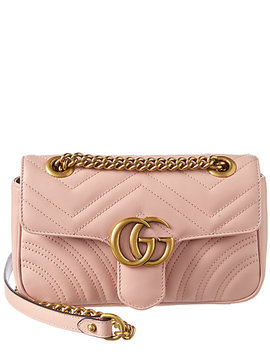 Gucci Gg Marmont Mini Matelasse Leather Shoulder Bag by Gucci