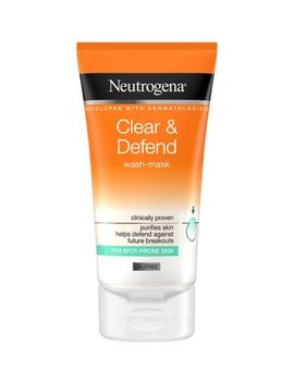 Neutrogena Clear & Defend Wash Mask 150ml by Neutrogena