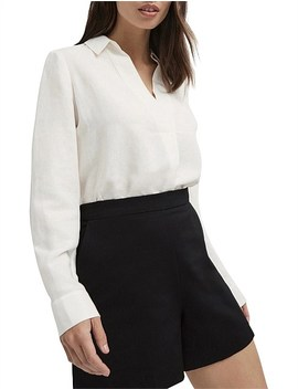 Linen Pull On Shirt by Witchery
