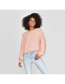 Women's Long Sleeve Crewneck Pullover Sweater   Knox Rose™ by Knox Rose
