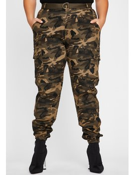 So Kush Now You See Me Cargo Pants by Dolls Kill