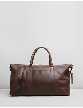 Lyle Leather Weekender by Double Oak Mills