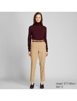 Women Extra Fine Merino Wool Turtleneck Jumper (72) by Uniqlo