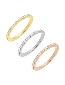 Trio Band Ring Set by Adina's Jewels