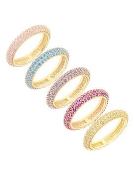 Pastel Ring Set by Adina's Jewels