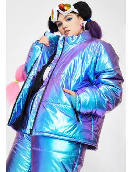 Miss Space Bae Escapade Puffer Jacket by Club Exx