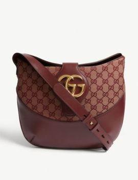 Arli Leather Shoulder Bag by Gucci