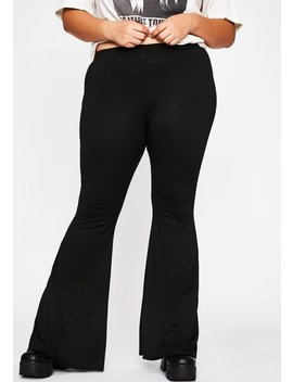 Totally Radical Love Flare Pants by Dolls Kill
