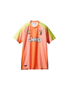 Palace Adidas Palace Juventus Authentic Szczesny 1 Match Jersey Orange/Slime by Stock X