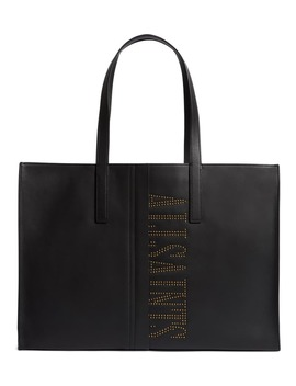Nina Studded Leather East/West Tote by Allsaints