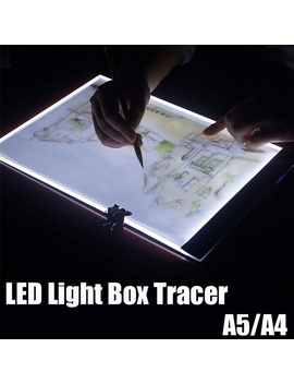 A5/A4 Ultra Thin Portable Led Light Box Tracer Usb Power Cable Dimmable Brightness Led Artcraft Tracing Light Box Light Pad For Artists Drawing Sketching Animation Stencilling X Ray Viewing by Wish