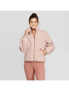 Women's Sherpa Full Zip Jacket   Joy Lab™ by Joy Lab
