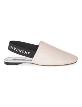 Rivington Leather Slingback Mules by Givenchy