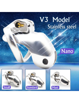 Chaste Bird New Arrival Nice Design 316 Stainless Steel Ht V3 Handmade Chastity Device Cock Penis Ring Adult Sex Toys A380 Ss by Ali Express.Com