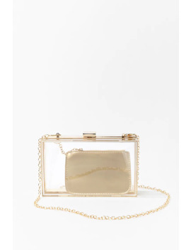 Structured Clutch & Coin Purse by Forever 21