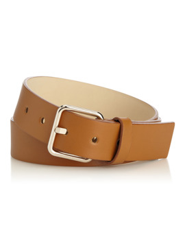 Smooth Leather Belt by Simons
