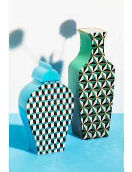 Висока ваза от порцелан by H&M