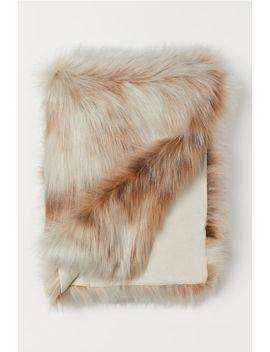 Одеяло от еко кожа с косъм by H&M