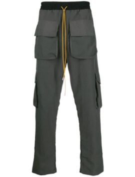 Relaxed Fit Cargo Trousers by Rhude