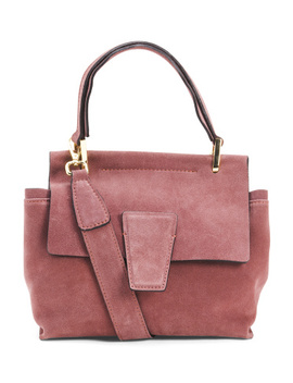Made In Italy Flap Over Satchel by Tj Maxx