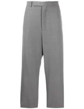 Cropped Astaires Trousers by Rick Owens
