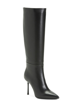 Made In Italy Leather Tall Boots by Tj Maxx