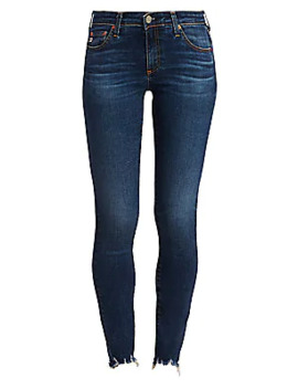Distressed Legging Ankle Skinny Jeans by Ag Jeans
