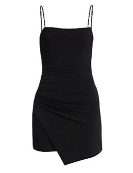 Asymmetric Jersey Mini Dress by Cinq à Sept