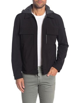 M Idweight Hooded Jacket by Michael Kors