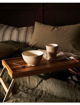 Folding Wooden Tray Trays   Dining by Zara Home