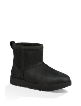 Classic Mini Leather Waterproof Boot by Ugg