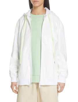 Zip Up Coated Jacket by Tibi
