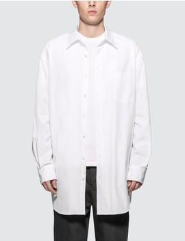 Oversized Broadcloth Shirt by Maison Margiela