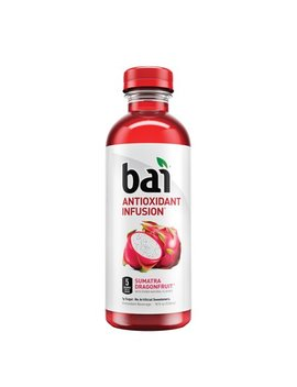 Bai Flavored Water, Sumatra Dragonfruit, Antioxidant Infused Drink, 18 Fluid Ounce Bottle by Bai