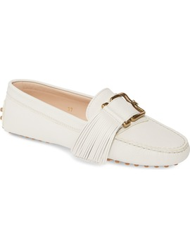 Gommini Buckle Tassel Driving Moccasin by Tod's