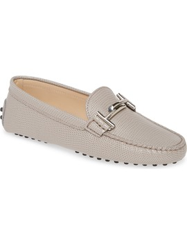 Reptile Embossed Driving Moccasin by Tod's
