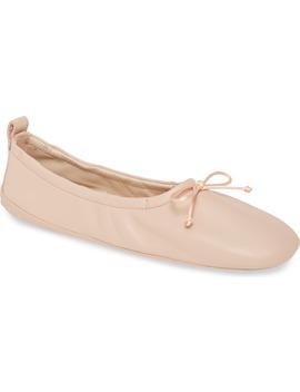 Scrunch Ballet Flat by Tod's