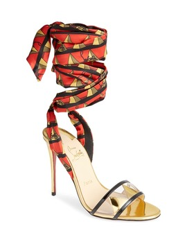 Baigneuse Ankle Wrap Sandal by Christian Louboutin
