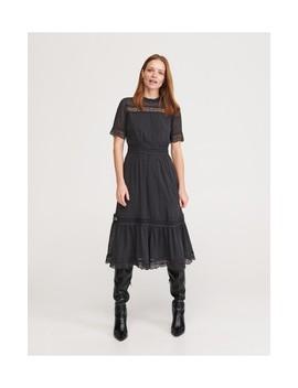 Sukienka Midi Z Koronką by Reserved